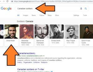 Googling Khadr