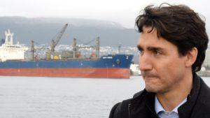 Trudeau Tanker Ship