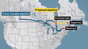 LNG Quebec Pipeline