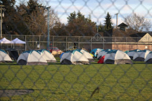 COVID Homeless Camp