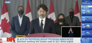 Trudeau Black Entrepreneurs