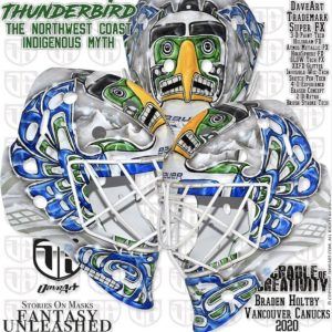Holtby Canucks Mask