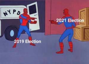 2019-2021 Election Spiderman Meme